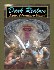 Dark Realms Epic Adventure Game: Core Rule - Used