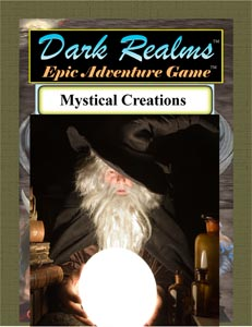 Dark Realms Epic Adventure Game: Mystical Creations