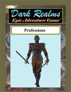 Dark Realms Epic Adventure Game: Professions