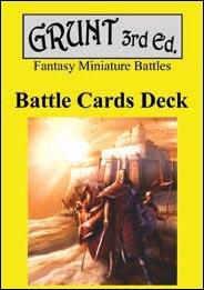 Grunt 3rd Edition: Battle Cards Deck